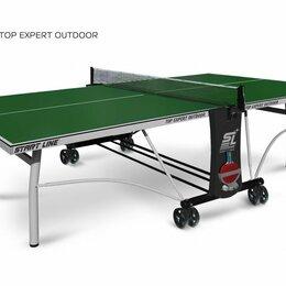Столы - Теннисный стол Top Expert Outdoor green, 0