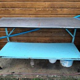 Мебель для учреждений - Металлический стол для производства, 0