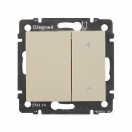 Электроустановочные изделия - Legrand 695629 Светорегулятор  Valena кнопочный IP 20, слоновая, 0