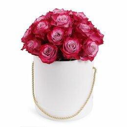 Цветы, букеты, композиции - Композиция в коробке «Палитра любви» -L (40см), 0