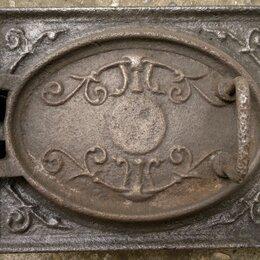 Камины и печи - Печная дверь чугунное литье 1890 года, 0