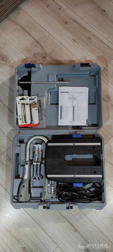 Электролобзик Dremel Moto Saw F013MS2045 по цене 8300₽ - Пилы, ножовки, лобзики, фото 0