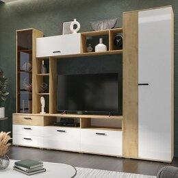 Шкафы, стенки, гарнитуры - Стенка Крокус Ватан 💥 белый глянец 💥 0743💥, 0