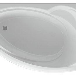 Ванны - Ванна акриловая Акватек БЕТТА 150х95 правая, фронтальная панель, каркас, слив, 0