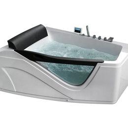Гидромассажеры - Гидромассажная угловая ванна Gemy G9056 K L (1700х1300х750) со вставкой из пр..., 0
