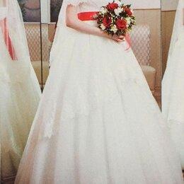 Платья - Свадебное платье с баской, 0