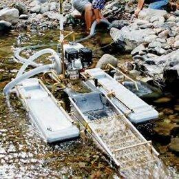Производственно-техническое оборудование - Мини драга Keene 2604HSN (США) на понтонах для добычи золота, 0