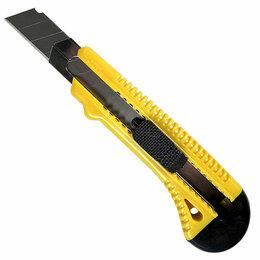 Пилы, ножовки, лобзики - Нож с лезвием с метал. ведомой, ручная фиксация 18 мм, 0