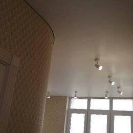 Потолки и комплектующие - Натяжной потолок сатиновый, 0