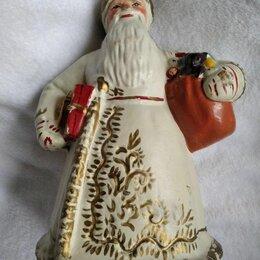 Новогодние фигурки и сувениры - Дед Мороз Папье Маше 50 г., 0