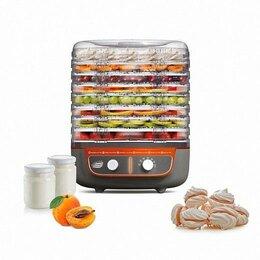 Сушилки для овощей, фруктов, грибов - Сушилка для овощей и фруктов Великие Реки Волга-9 с йогуртницей, 0