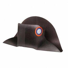 Карнавальные и театральные костюмы - Шляпа Наполеона (Карнавальный головной убор для сборки из картона), 0