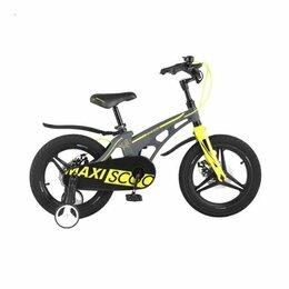"""Трехколесные велосипеды - Детский велосипед Maxiscoo Cosmic Делюкс плюс 14"""", 0"""