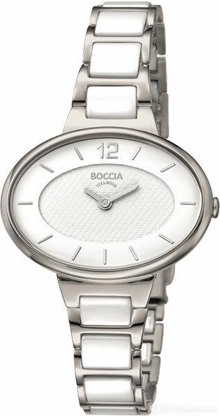 Наручные часы Boccia Titanium 3261-05 по цене 11260₽ - Наручные часы, фото 0