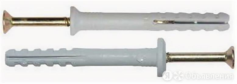 Дюбель-гвоздь потайной D6х60  (уп.50шт.) по цене 101₽ - Дюбели, фото 0
