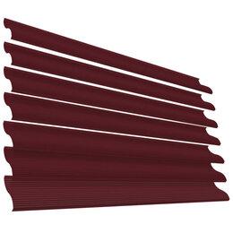 Заборы, ворота и элементы - Ламель Еврожалюзи RAL3005 Красное Вино полиэфирная эмаль в цвет, 0