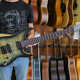 Электрогитары и бас-гитары - Электрогитара Schecter Reaper-6 charcoalburst, 0