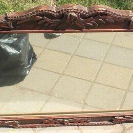 Зеркала - зеркало настенное, деревянная рама,царская Россия, 0