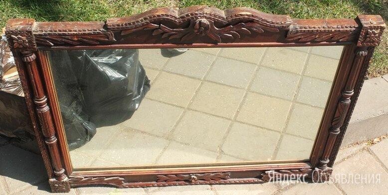 зеркало настенное, деревянная рама,царская Россия по цене 9000₽ - Зеркала, фото 0