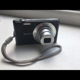 Фотоаппараты - Фотоаппарат cyber-shot dsc-w810 sony сломанный, 0