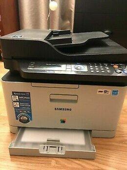 Принтеры и МФУ - Wi-Fi, NFC, цветное лазерное МФУ Samsung. В…, 0