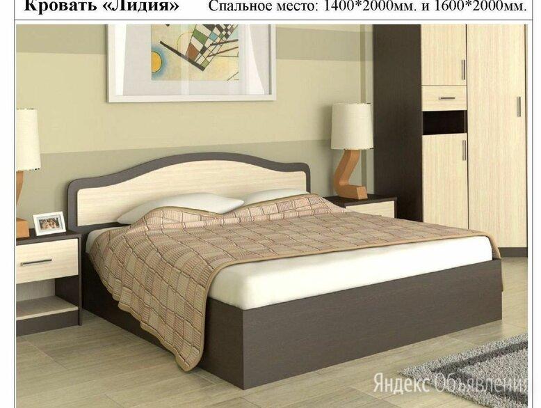 Кровать двухспальная Лидия по цене 6500₽ - Кровати, фото 0