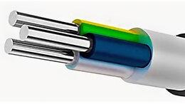 Электрические щиты и комплектующие - АсВВГ-Пнг(А) 3* 16 ок-1, 0