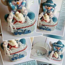 Подарочная упаковка - Подарочная упаковка Снеговик, 0