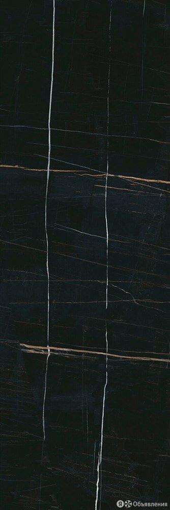 Плитка настенная 14026R Греппи черный обрезной 40x120 Kerama Marazzi по цене 2392₽ - Плитка из керамогранита, фото 0