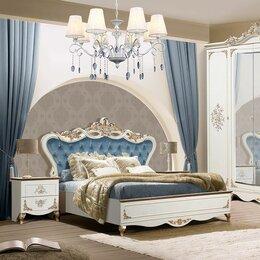 "Кровати - Спальня Афина ""кремовый мрамор""., 0"