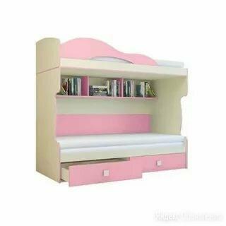 Кровать 2 этаж тахта радуга горизонт по цене 24300₽ - Кровати, фото 0