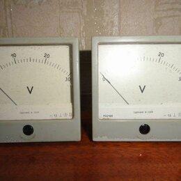 Измерительные инструменты и приборы - Индикатор стрелочный вольтметр м42100, 0