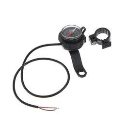 Аксессуары и запчасти - Зарядное устройство, компас для мото на руль, черный, 0