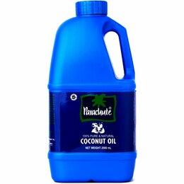 """Маски и сыворотки -  Кокосовое масло """"Парашют"""" 2 л. для волос и тела Parachute Coconut Oil, 0"""