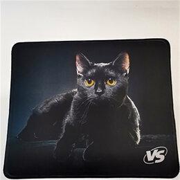 Прочие аксессуары - Коврик для мыши VS Cat Img 1, ткань, резина, 220x180 мм, 0
