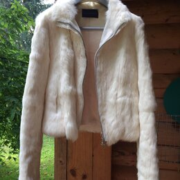 Шубы - Куртка / шубка  из из кролика , 0
