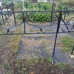 Ритуальные товары - Оградки ритуальные холодная ковка 2.5 на 2 метра, 0