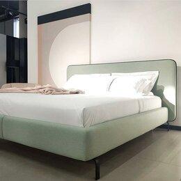 Кровати - Кровать двуспальная 160*200 с ящиком для белья и ортапедом, 0