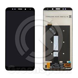 Дисплеи и тачскрины - Дисплей для Xiaomi Redmi 5 Plus +тач черный 100% , 0