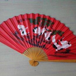 Сувениры - Китайский веер «Аисты», 0