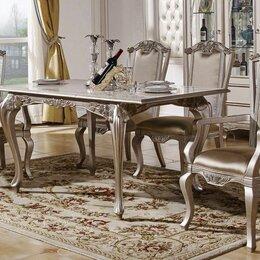 Столы и столики - Стол обеденный раскладной Tiffany Art (120*160), 0