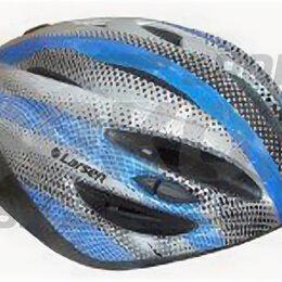 Спортивная защита - Шлем велосипедный Larsen бело-жёлт (х2), 0