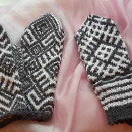 Перчатки и варежки - Варежки с северным орнаментом, 0