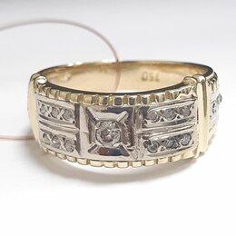 Кольца и перстни - Кольцо с бриллиантами золото 750, 0