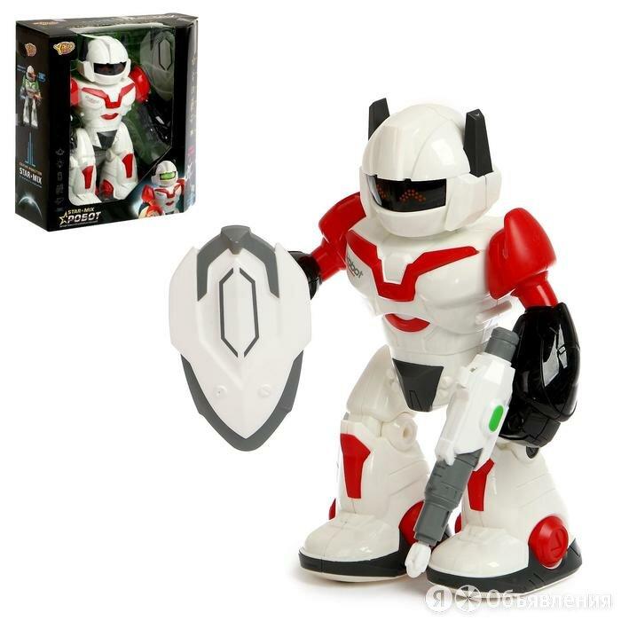 Робот «Герой», световые и звуковые эффекты, работает от батареек по цене 1438₽ - Роботы и трансформеры, фото 0