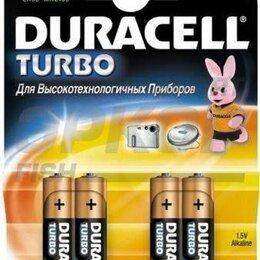 Батарейки - Элемент питания Duracell turbo LR6 MX1500 BP-4, 0