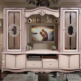 Шкафы, стенки, гарнитуры - Версаль шкаф комбинированный. Дуб молочный, 0