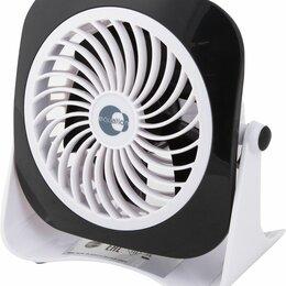 Вентиляторы - Вентилятор настольный мини USB ø10 см, черный , 0