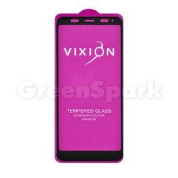Защитные пленки и стекла - Защитное стекло 6D для Xiaomi Redmi Note 5/Note 5 Pro (черный) (VIXION), 0