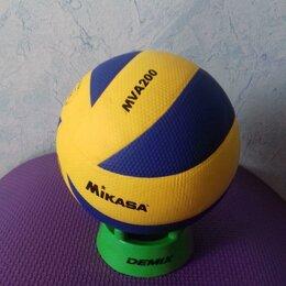 Спортивная защита - Волейбол мяч Новый волейбольный Mikasa Mva 200, 0